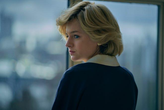 Emma Corinne as Princess Diana in Season 4 of