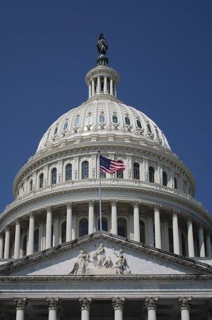 U.S. Capitol on Aug. 8, 2021.
