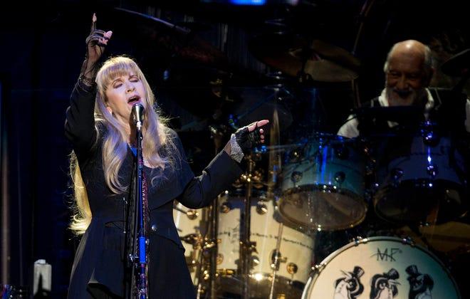 "Stevie Nicks sings ""Dreams"" during a Fleetwood Mac concert at the Frank Erwin Center in Austin, Texas, on Feb. 9, 2019. [ANA RAMIREZ/AMERICAN-STATESMAN]"