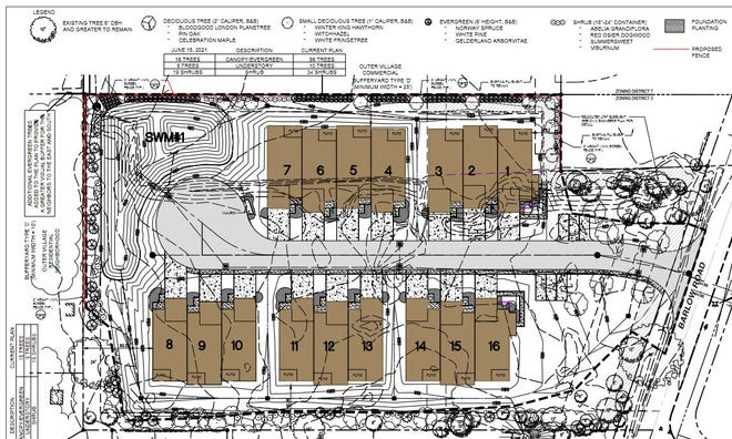 City planners said they felt there were too many issues with a proposed townhouse development off Barlow Road and rejected a conditional use request Monday.