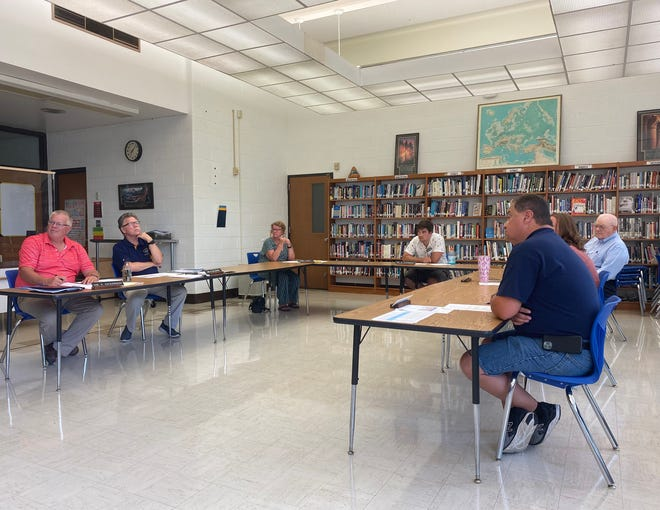 The Hillsdale Board of Education holds its August meeting on Tuesday evening.