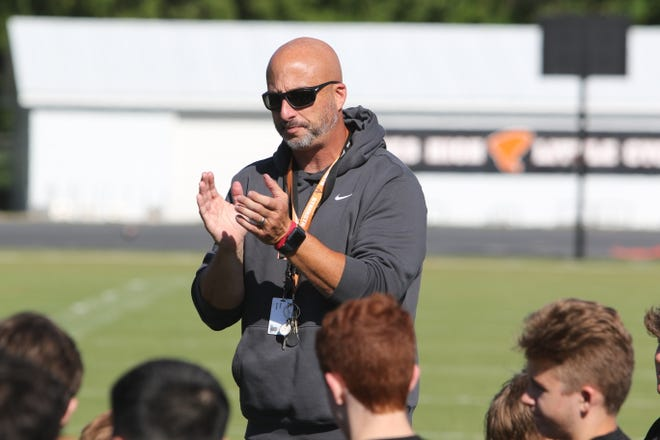 Brian Sauser is taking over the Ames High football program in 2021. Sauser successfully turned programs around at Iowa City West and Grinnell before arriving at Ames.