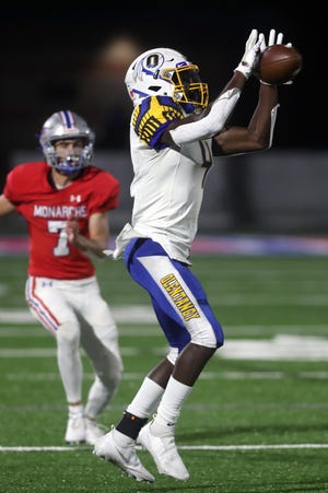 Senior Dubby Agudosi should be a key performer for Olentangy, which graduated many of its top contributors on offense and defense.