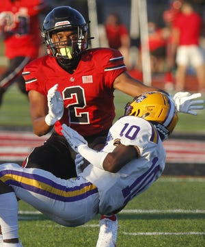 Senior safety Delaney Wilburn, who has college offers from Ashland, Buffalo, Colorado and Notre Dame College, expects to lead the Groveport defense after recording five interceptions a year go.