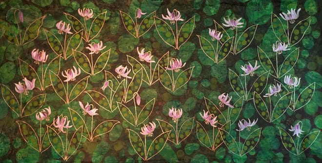 """""""Consider The (Trout) Lilies"""" by Karen Albanese Campbell"""