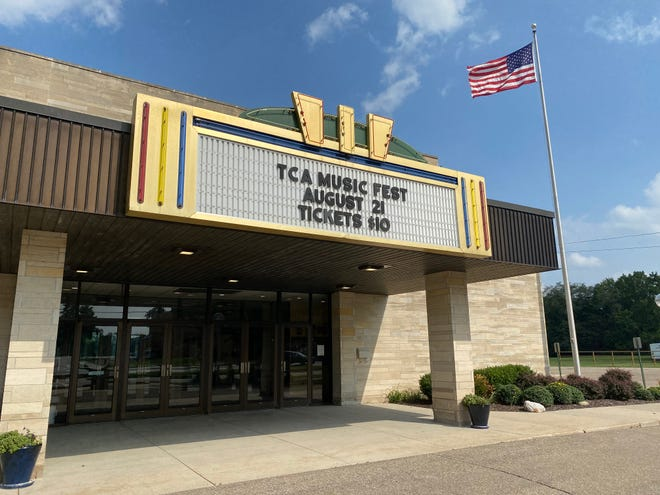 The Tecumseh Center for the Arts, pictured Tuesday, is hosting its first TCA Music Fest Aug. 21.