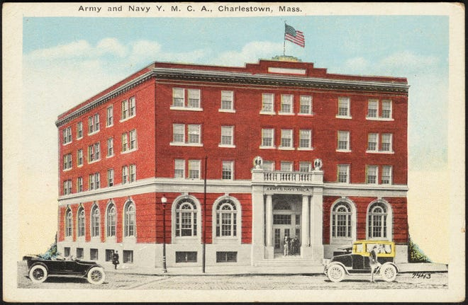 Here is the Massachusetts Army and Navy YMCA in Charlestown as it was in the early 20th century. Learn more from Digital Commonwealth at www.digitalcommonwealth.org.