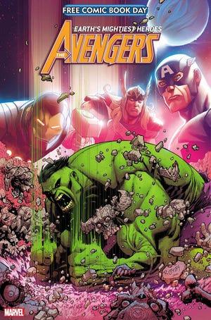 """The Hulk stars in Marvel's FCBD """"Avengers"""" title for 2021."""