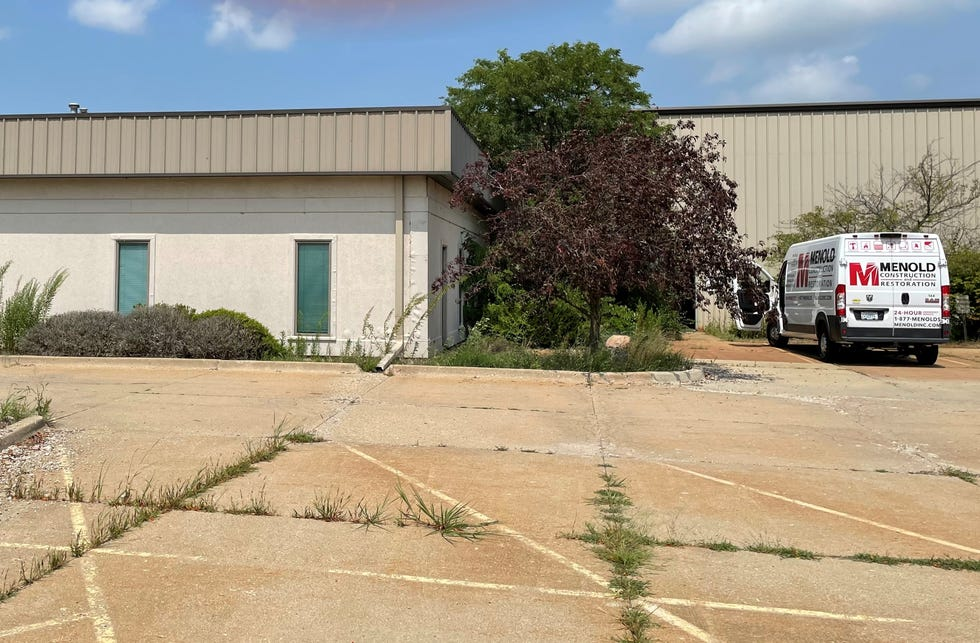 The 100,000-square-foot warehouse at 1961 Edgewater Drive in North Pekin is the future site of an Amazon fulfillment center. The center, scheduled to open next year, is expected to create between 250 and 500 new local jobs.