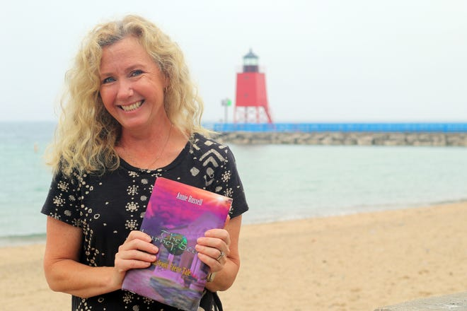 """Charlevoix author Annie Russel is set to publish her second book titled """"The Journey Stone: A Charlevoix Faerie Tale"""" this fall. The book is the second in a four-part series and is set in Northern Michigan."""