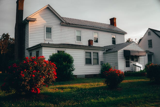 Civil War-era home Pleasant Level in Sutherland, Va. owned by Colin and Brenda Pilley.
