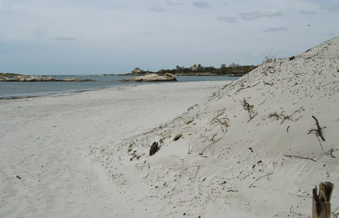 The no-swimming advisory for Gooseberry Beach in Newport was lifted Tuesday.