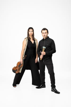 Samantha Bennett and George Nickson are the founders and artistic directors of ensembleNewSRQ.