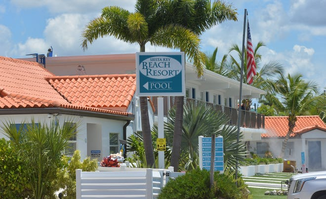 Sarasota County has received a request to redevelop the existing Siesta Key Beach Resort at Calle Miramar and Ocean Blvd. in Siesta Key Village. The existing buildings would be replaced with a five-story, 170-bed hotel.