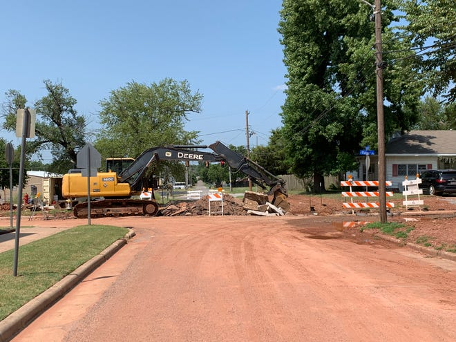 Construction near Horace Mann Elementary School will change the course of traffic this year.