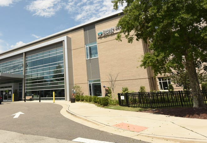The main campus of New Hanover Regional Medical Center in Wilmington, N.C. New Hanover County sold the hospital to Novant Health last fall and Novant took over the hospital on Feb. 1, 2021.