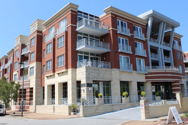 SkySail Condos were built on New Bern's riverfront in 2008.