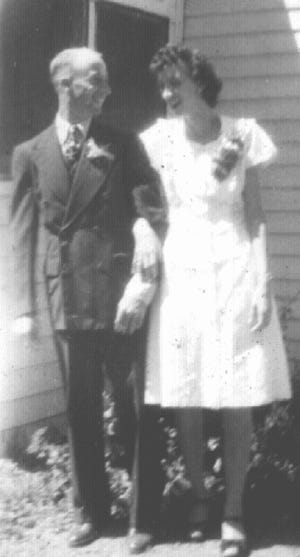 The Giefers were married August 10, 1946 at St. Joseph Church in South Mound, Kansas.