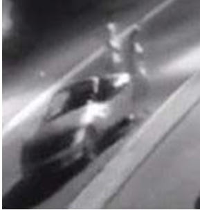 Surveillance video captured images of two women wanted for questioning in the SweetBay thefts.