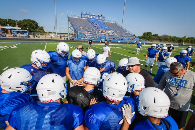 The Panthers took the field in their intrasquad blue vs white scrimmage on Saturday, August 7th.