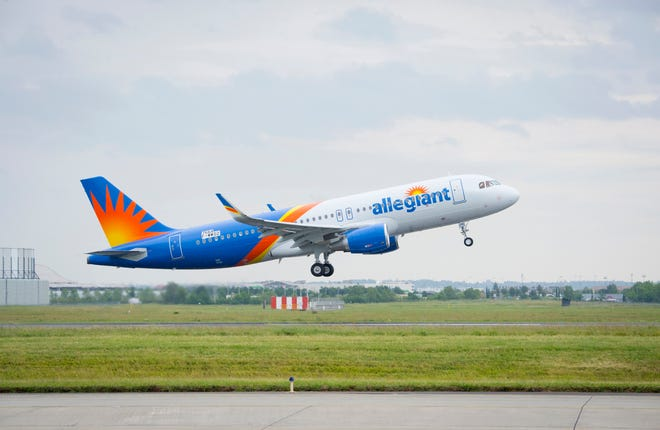 Allegiant Air will expand its operations at Appleton International Airport.