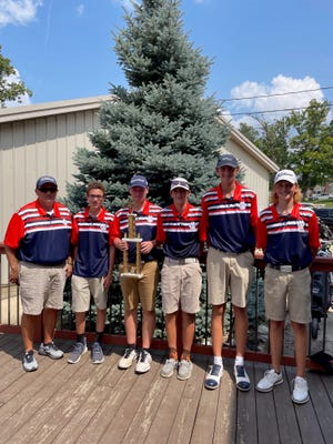 Galion won the Bucyrus Elks Invitational with a team score of 321, 29 strokes better than runner-up Upper Sandusky.