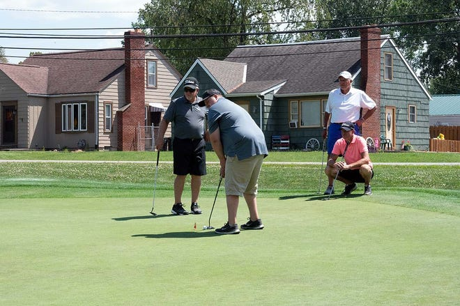 Thirty-seven teams participated in Aug. 4 golf outing sponsored by the Bucyrus Area Chamber of Commerce, making it the largest in the outing's 26-year history.