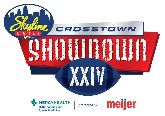 The 2021 Skyline Chili Crosstown Showdown 24 logo