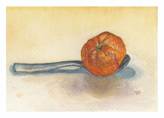 """""""The Cure"""" by Tudi Harwood is among the works in the exhibit."""