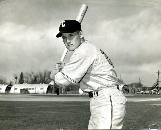 Caroll Hardy, who played some of his baseball in Indianapolis, is the answer to the trivia question: What player pinch-hit for Ted Williams?