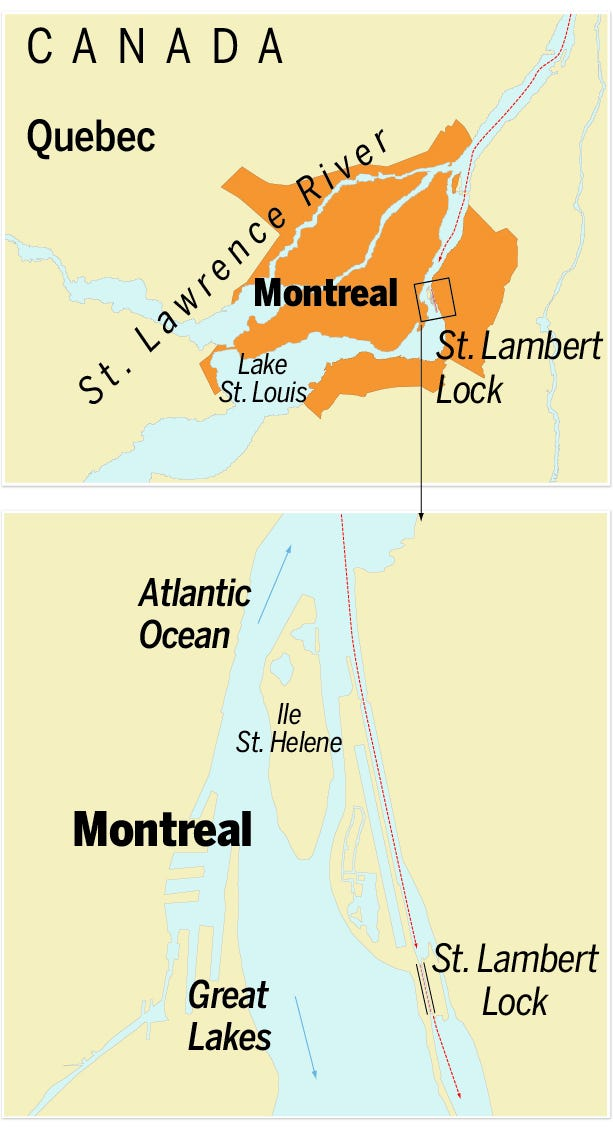 Navigating the St. Lawrence Seaway