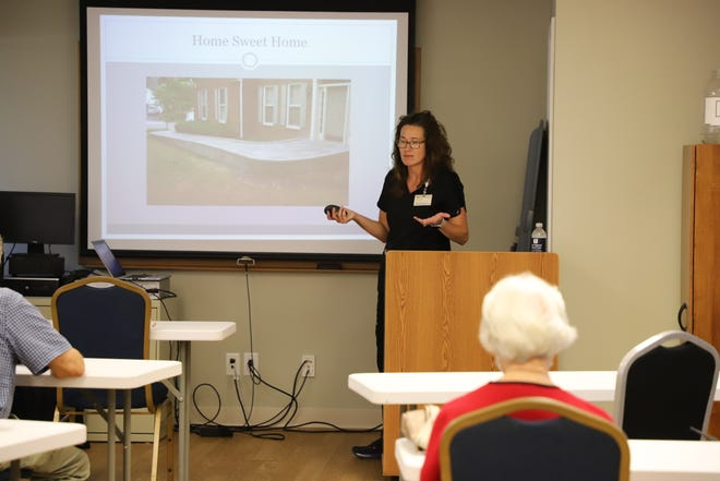 Dr. Jessica Brown discusses the types of outside ramps that are available to those with mobility issues. Brown said medical modifications to homes can be pleasing to the eye while maintaining their function.
