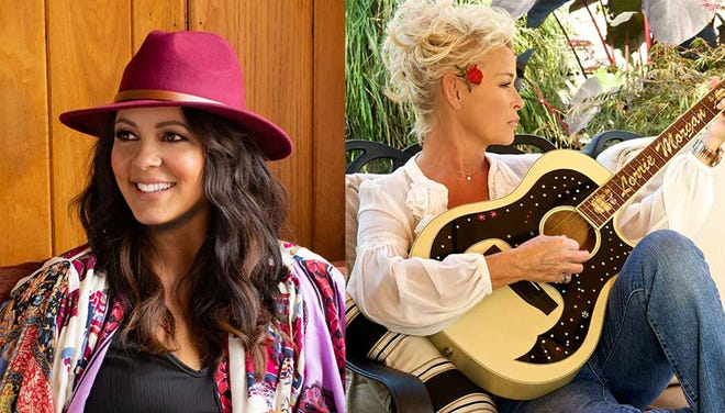 Sara Evans, left, will perform Thursday at the Montgomery Performing Arts Centre, and Lorrie Morgan, right, will be at MPAC on Friday.