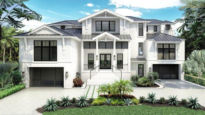 Theory Design will showcase an interior design for Seagate Development Group's furnished Beacon model at Hill Tide Estates on Boca Grande.