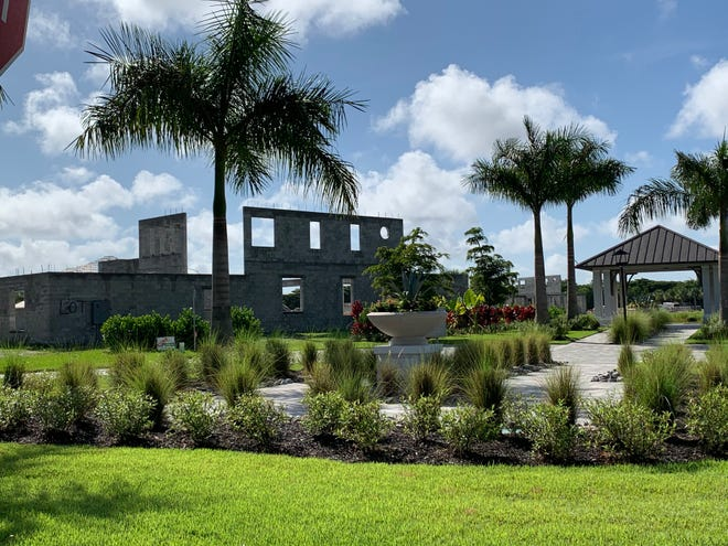 Construction is underway on The Enclave of Distinction's five unique three, four, or five-bedroom custom homes on Livingston Road in North Naples.