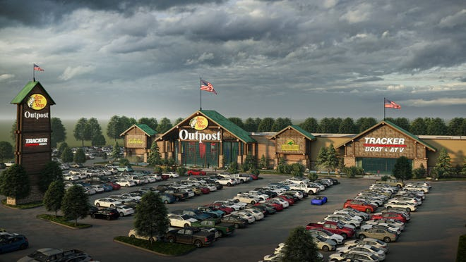 Bass Pro Shops announced Tuesday, Aug. 10 that a third St. Louis-area store would open in Sunset Hills in late 2022.