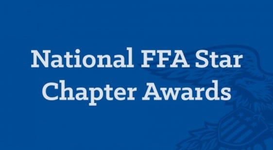 National FFA Star Chapter Awards