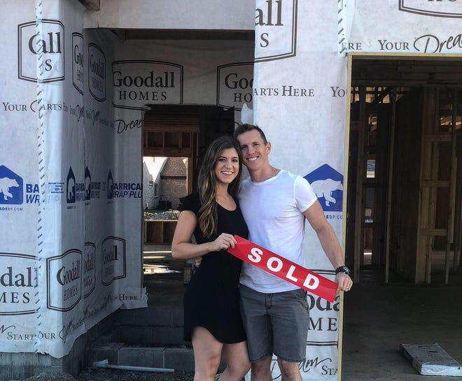Gabrielle Olhausen, 25, and husband Donald Olhausen Jr., 34, remodeled their home in 2018.