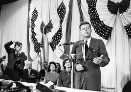 President-elect John F. Kennedy delivered his first speech onsite at the Hyannis Armory on Nov. 9, 1960.