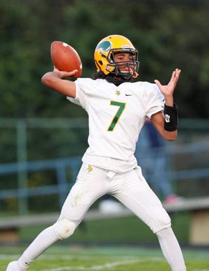Senior quarterback Isaiah Jackson is among a group of experienced returnees for Northland's offense. He completed 24 of 65 passes for 354 yards and four touchdowns last season.