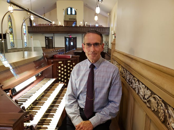 Mark Meuser on Aug. 14 will become the new organist and directorof music at St. John's Evangelical Lutheran Church in Grove City.