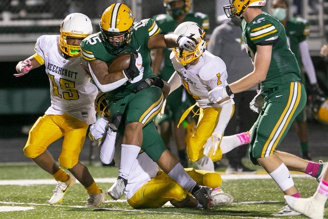 Senior Tyler Bornheim is expected to start at running back and defensive line. A year ago, he rushed for 405 yards and three touchdowns and had 35 tackles and three sacks.