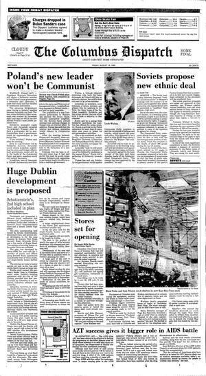 The Columbus Dispatch, Aug. 18, 1989, Columbus City Center opens