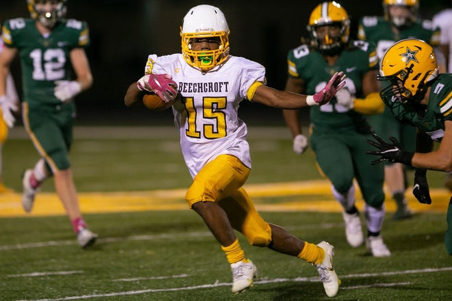 Senior Diante Latham is one of the top players for Beechcroft on both sides of the ball. Last season, he rushed for 580 yards, had 336 yards receiving and intercepted nine passes.