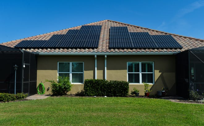 Rooftop solar panels are one of the energy-efficiency projects a homeowner can finance with the Property Assessed Clean Energy program.