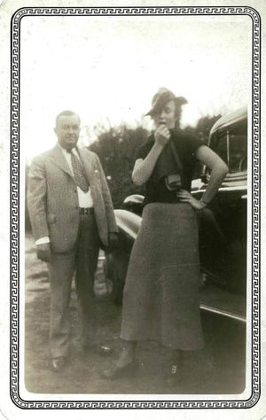 Broughton and Frances Wilkinson – 1930s