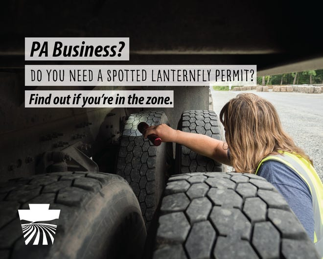 If your business requires moving product (or uses trucks, trailers, delivery vehicles, etc.) and you operate within a Spotted Lanternfly quarantine area, you need a permit.