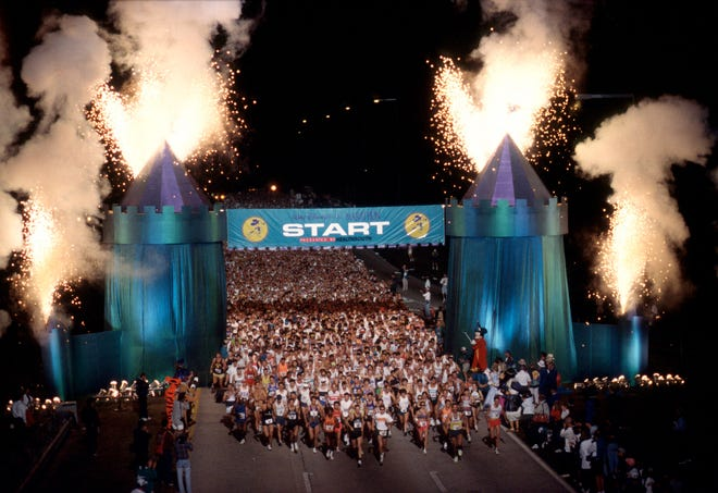 Walt Disney World offers several marathons, half marathons, and shorter races each year.