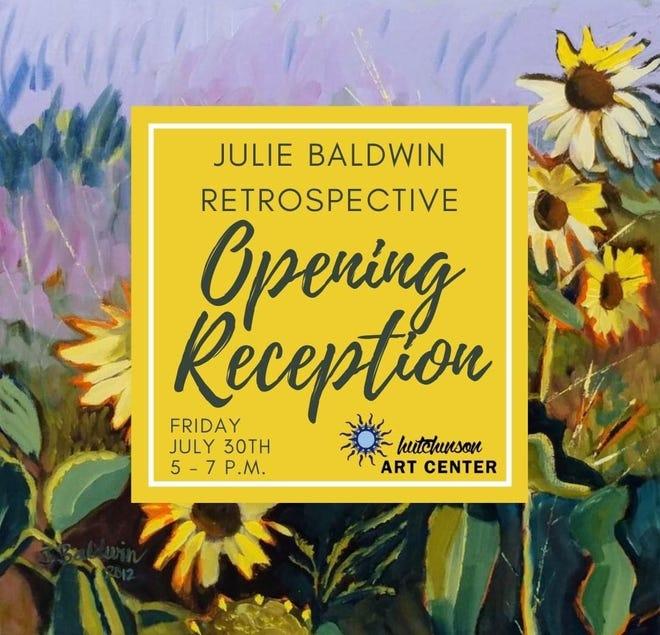 Julie Baldwin Retrospective at the Hutchinson Art Center.