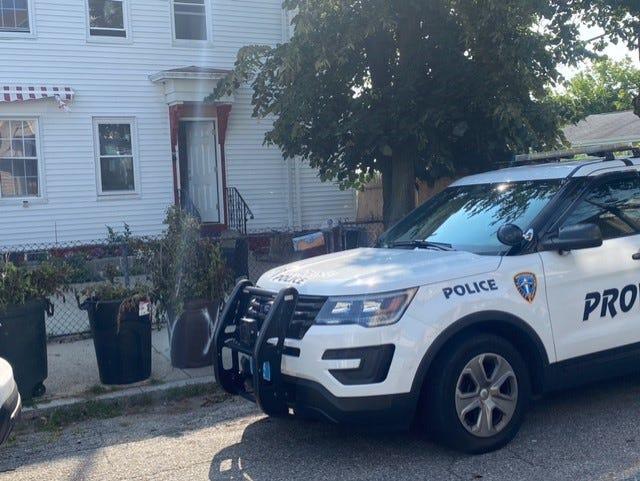 Providence police cruiser.